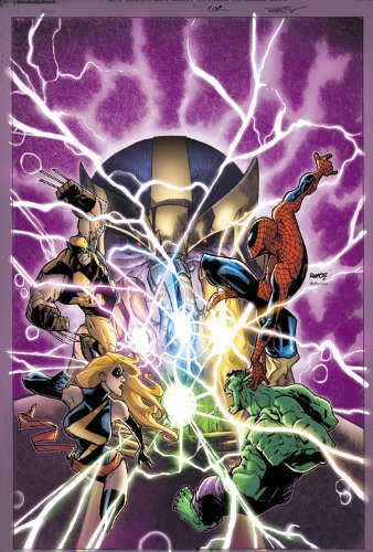 Avengers And The Infinity Gauntlet Cover