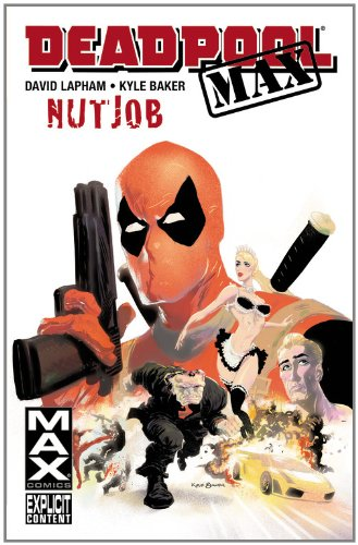 Deadpool MAX: Nutjob Cover