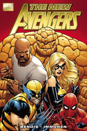 New Avengers Vol. 1 Cover