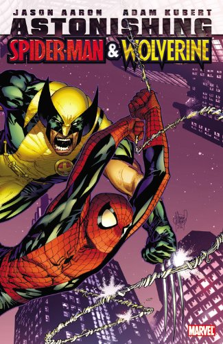 Astonishing Spider-Man And Wolverine Cover