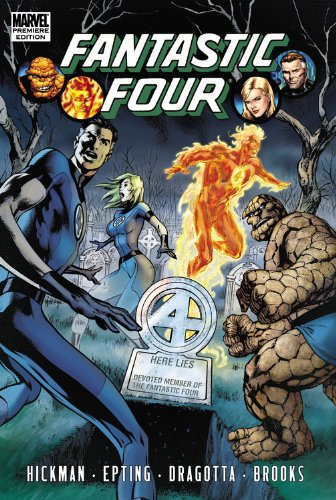 Fantastic Four by Jonathan Hickman Vol. 4 Cover