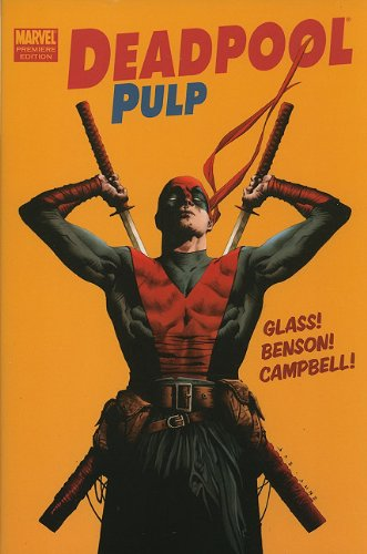 Deadpool Pulp Cover