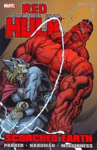 Red Hulk: Scorched Earth Cover