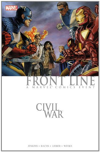 Civil War: Front Line Cover
