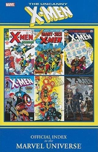 Uncanny X-Men: Official Index To The Marvel Universe Cover