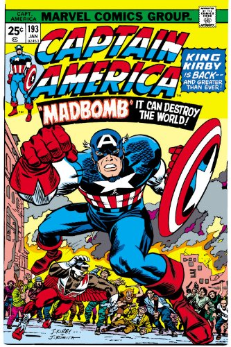 Captain America by Jack Kirby Omnibus Vol. 1 Cover