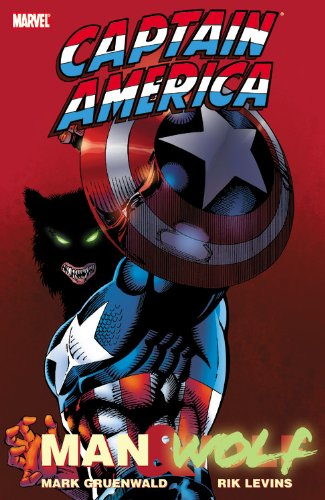 Captain America: Man And Wolf Cover