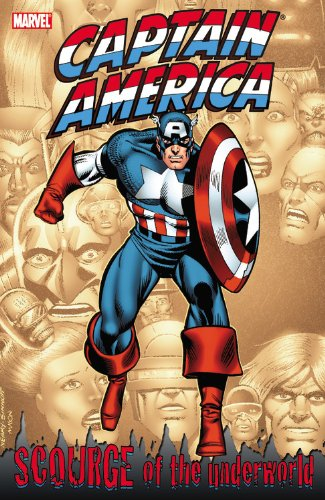 Captain America: Scourge Of The Underworld Cover