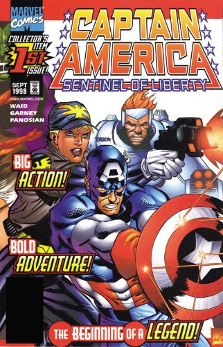 Captain America: Sentinel Of Liberty Cover