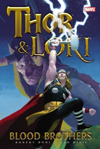 Thor And Loki: Blood Brothers Cover
