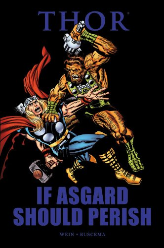 Thor: If Asgard Should Perish Cover