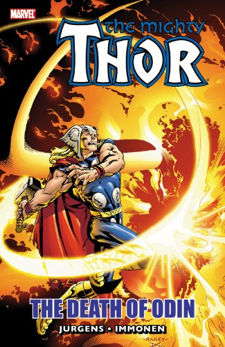Thor: The Death Of Odin Cover