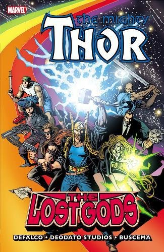 Thor: The Lost Gods Cover