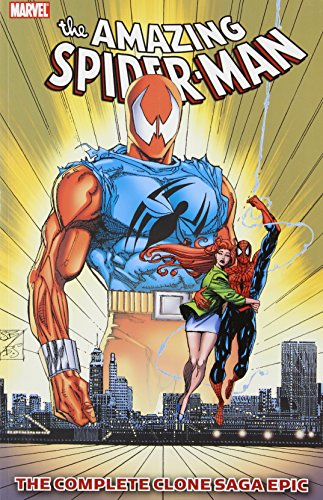Spider-Man: The Complete Clone Saga Epic Book 5 Cover
