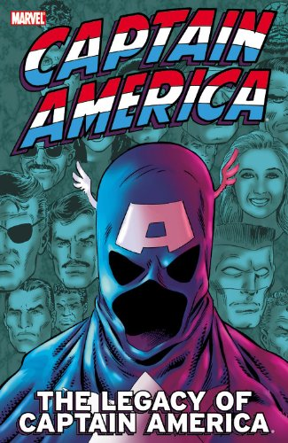 The Legacy Of Captain America Cover