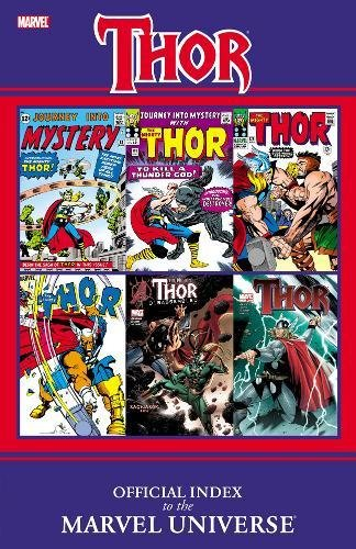 Thor: Official Index To The Marvel Universe Cover
