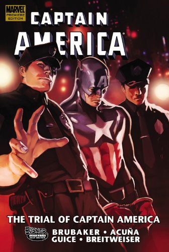 Captain America: The Trial Of Captain America Cover