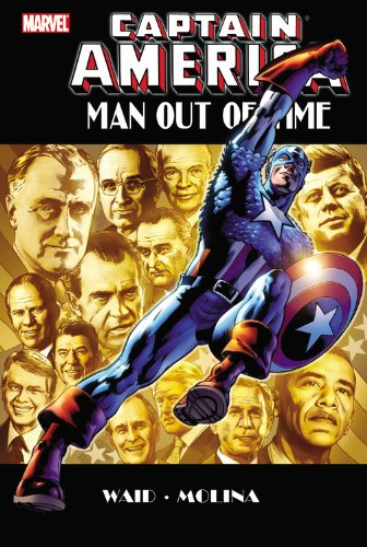 Captain America: Man Out Of Time Cover