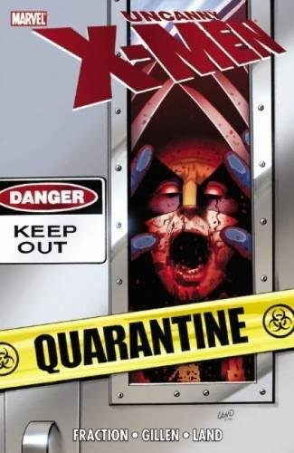 Uncanny X-Men: Quarantine Cover