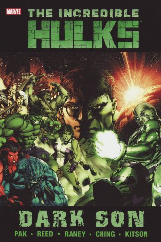 Incredible Hulks: Dark Son Cover