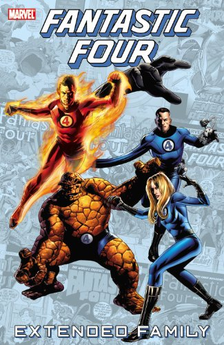 Fantastic Four: Extended Family Cover