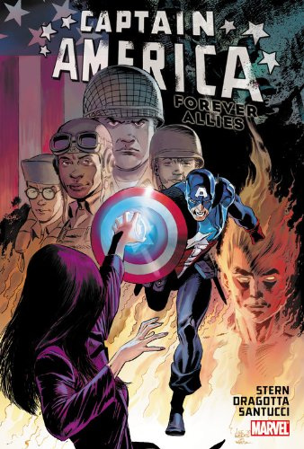 Captain America: Forever Allies Cover