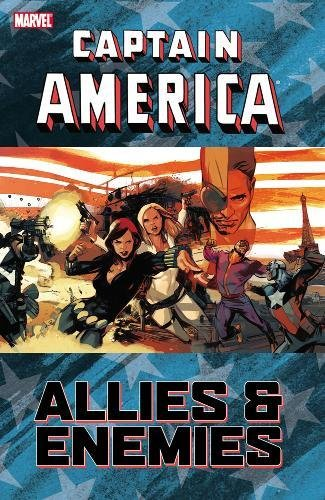 Captain America: Allies And Enemies Cover