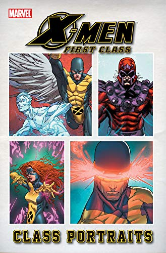 X-Men First Class: Class Portraits Cover