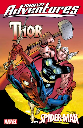 Marvel Adventures Thor / Spider-Man Cover