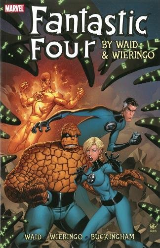 Fantastic Four by Mark Waid & Mike Wieringo cover