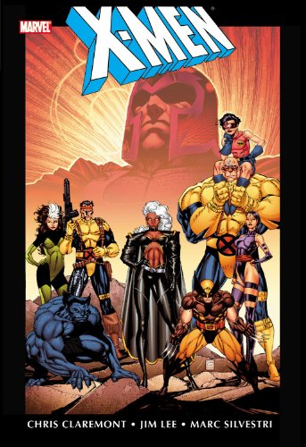 X-Men by Chris Claremont and Jim Lee Omnibus Vol. 1 Cover