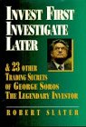 Book Cover: Invest First Investigate Later by Robert Slater