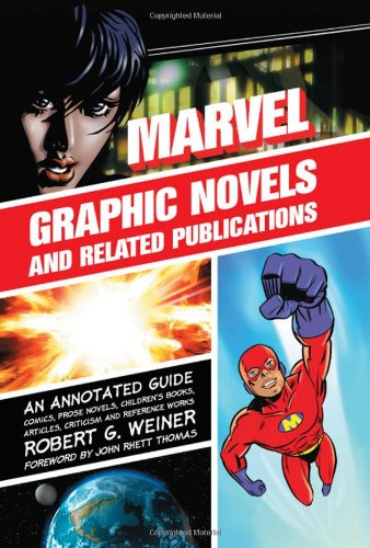 Marvel Graphic Novels And Related Publications Cover
