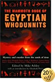 The Mammoth Book of Egyptian Whodunnits by  Michael Ashley (Editor), et al (Paperback - October 2002)