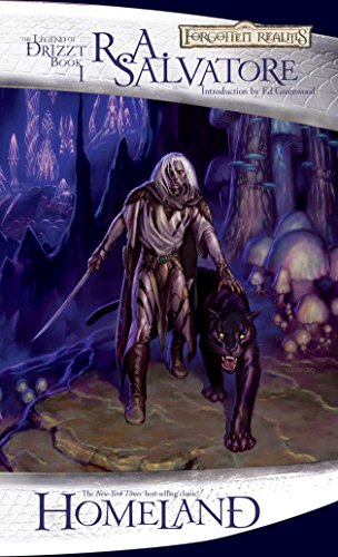 Homeland: The Dark Elf Trilogy, Part 1 (Forgotten Realms: The Legend of Drizzt, Book I) (Bk. 1), Salvatore, R.A.