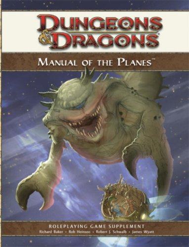 Manual of the Planes: A 4th Edition D&D Supplement (D&D Rules Expansion)