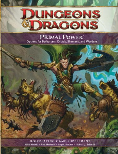 Primal Power: A 4th Edition D&D Supplement