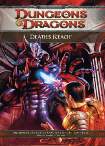 Death's Reach: Adventure E1 for 4th Edition D&D (D&D Adventure)
