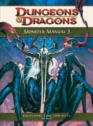Monster Manual 3: A 4th Edition D&D Core Rulebook (Dungeons & Dragons Core Rulebooks)