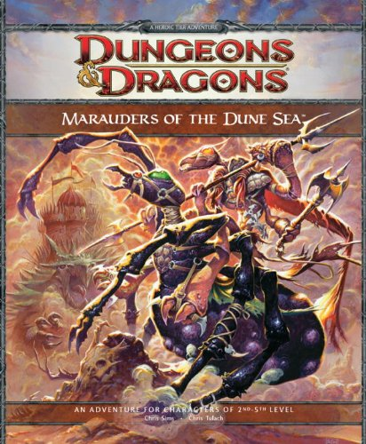 Marauders of the Dune Sea (Dungeons & Dragons)