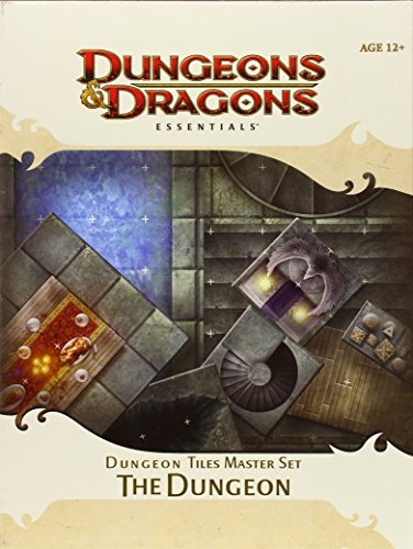 Dungeon Tiles Master Set - The Dungeon: An Essential Dungeons & Dragons Accessory (4th Edition D&D)