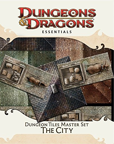 Dungeon Tiles Master Set - The City: An Essential Dungeons & Dragons Accessory (4th Edition D&D)