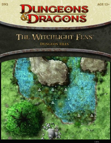 The Witchlight Fens - Dungeon Tiles: A 4th Edition Dungeons & Dragons Accessory (4th Edition D&D)