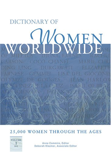 PDF Dictionary of Women Worldwide 25 000 Women Through the Ages