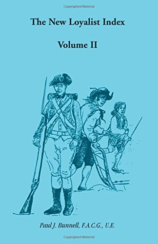 The New Loyalist Index, Vol. 2, Bunnell, Paul J.