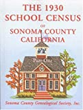 The 1930 School Census of Sonoma County, California