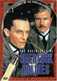 The Adventures of Sherlock Holmes - Vol. 1: (A Scandal in Bohemia/ The Dancing Men/ The Naval Treaty/ The Solitary Cyclist) - movie DVD cover picture