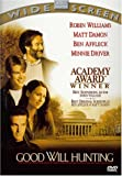 Good Will Hunting - movie DVD cover picture