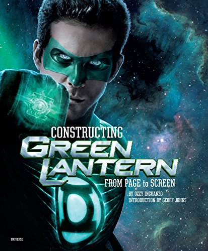 Constructing Green Lantern: From Page to Screen cover