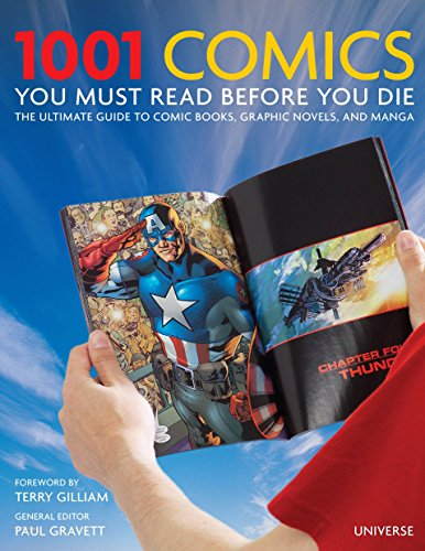 1001 Comics You Must Read Before You Die cover